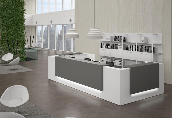 qualidesk la banque d 39 accueil ou le comptoir d 39 accueil est l 39 image de votre entreprise. Black Bedroom Furniture Sets. Home Design Ideas