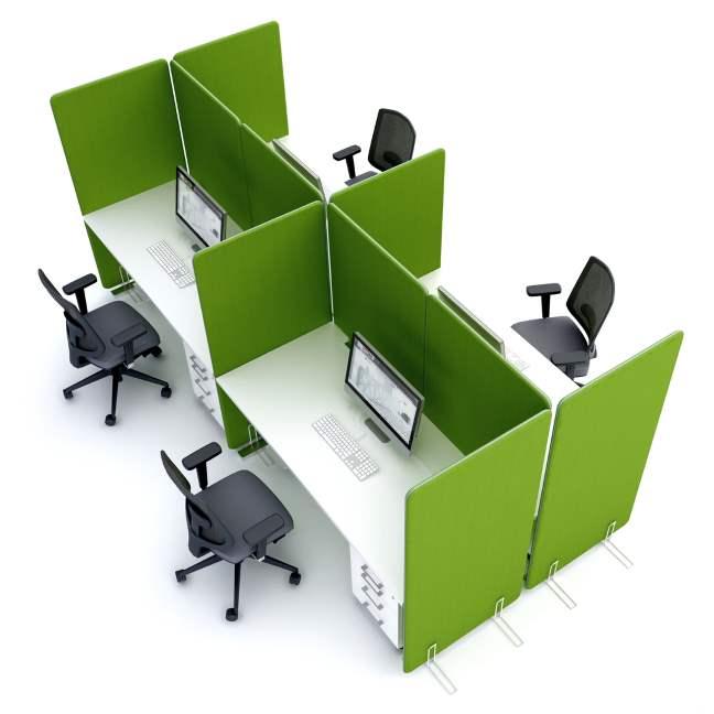 qualidesk claustra cloison mobile et 233 crans de bureau separation et amenagement d espace de