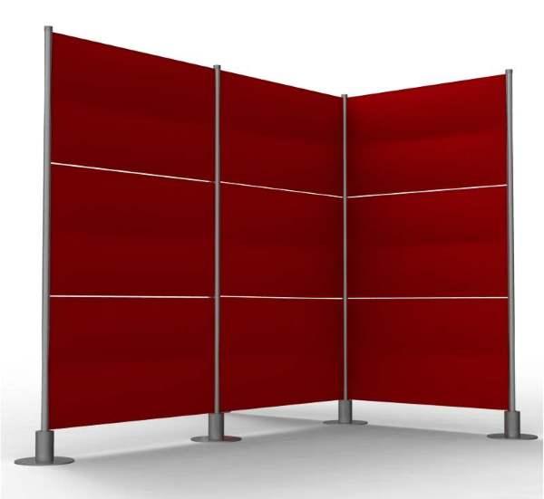cloison mobile bureau cloison s paratrice bureau cloison mobile acoustique et magn tique glass. Black Bedroom Furniture Sets. Home Design Ideas